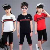 CHILDREN'S CLOTHING BOYS GIRLS  SET