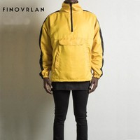 2018 Spring New Men Brand Clothing Sportswear Men Fashion Thin Windbreaker Jacket Zipper Coats Outwear Hooded Men Jacket