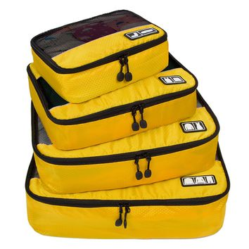 STYLEDOME Travel 4 Set Packing Cubes Carry-on Luggage Packing Organizers