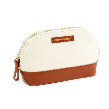 Shop Canvas And Leather Small Travel Case at vineyard vines