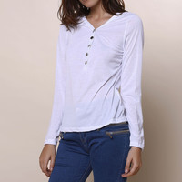 White Button Down Causal Shirt B0013660