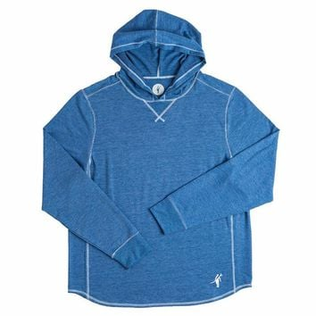 Toes on the Nose Schooner L/S Hoodie Blue