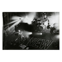 Brand New Black & White Stage Poster