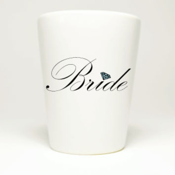 Bachelorette Party Bride Shot Glass