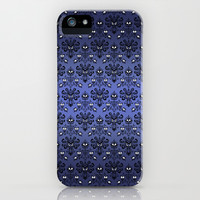 Halloween Haunted mansion Ghost Pattern apple iPhone 4 4s, 5 5s 5c, iPod & samsung galaxy s4 case