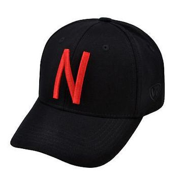 Licensed Nebraska Cornhuskers Official NCAA One Fit Wool Hat Cap by TOW 266268 KO_19_1