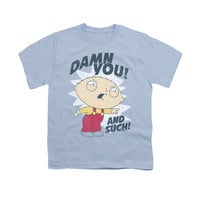 FAMILY GUY AND SUCH Youth Short Sleeve T-Shirt