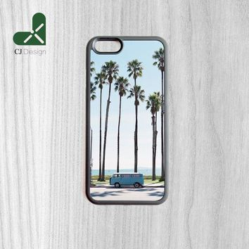New Product Palm Trees Backgroud Pattern Charming Protective Back Cover for iPhone 6 6s Mobile Phone Shell