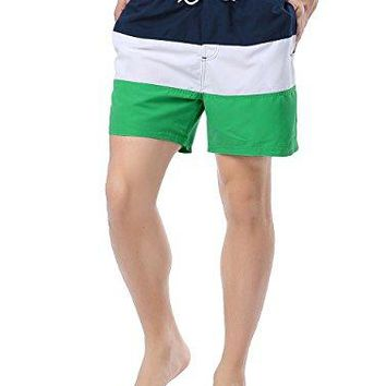 SHENGRUI Quick Dry Swim Trunks