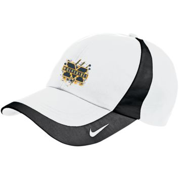 Michigan Wolverines Splatter Logo Nike Colorblock Cap