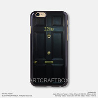 Sherlock Holmes Door 221B iPhone 6 6Plus case iPhone 5s case iPhone 5C case 541