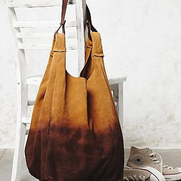 Yerse Womens Atwood Suede Hobo