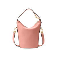 Small Soft Leather Bucket Bag