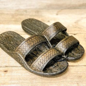 Pali Hawaii Bamboo Sandals - Brown