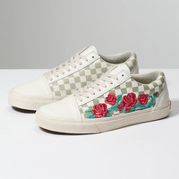Rose Embroidery Old Skool Dx | Shop At Vans