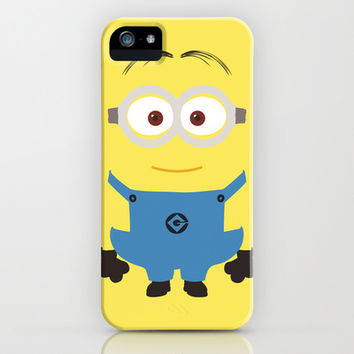 Despicable Me - Minion iPhone & iPod Case by TracingHorses