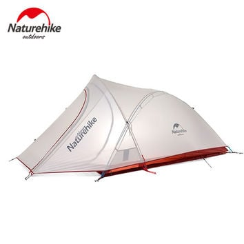 Naturehike 2017 New 2 Person 3 Season Camping Tent Ultralight Large Space Camp Tente Cirrus 2 Man Tent