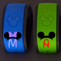 Disney Magic Band Decal | Walt Disney Decal | Disney Name Decal | First Disney Vacation Decal | First Disney Trip | Magic Band Sticker | 178