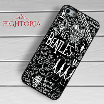 The Beatles Collage - zDzA for  iPhone 6S case, iPhone 5s case, iPhone 6 case, iPhone 4S, Samsung S6 Edge