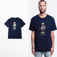 Cartoon Bear Cayler Sons Print Tshirt
