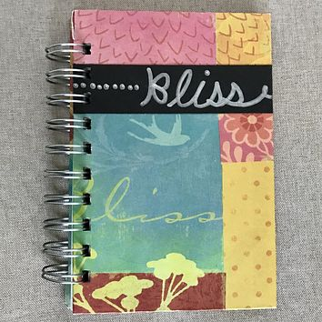 Bliss - Bright 4x6 Lined - Bullet Journal - Planner - Spiral Bound