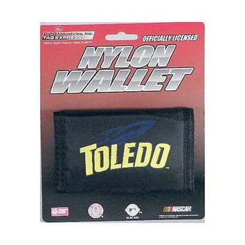 TOLEDO ROCKETS OFFICIAL TEAM LOGO NYLON TRIFOLD WALLET NEW RICO INDUSTRIES