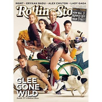 Glee Rolling Stone Cover Poster 11 inch x 17 inch poster