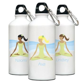 Go-Girl Water Bottle - Meditate