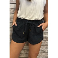 Picnic Shorts- Navy