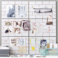 So into this design on Fab! Brick Wall Corkboard #FabForAll