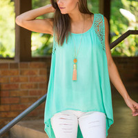 The Sara Jane Tank, Mint