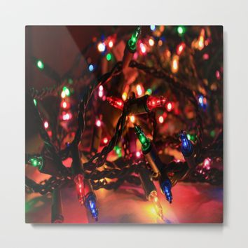 Just Lights Metal Print by Jessica Ivy