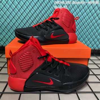 HCXX N281 Nike Hyperdunk X HD 2018 Hight Breathable Actual basketball shoes Black Red