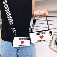 Moschino Portable Shoulder IPHONE CASE