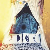 PRE-ORDER Light Side of the Moon Phase Pillow Case Set