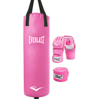 Walmart: Everlast Women's Heavy Bag Kit, Pink