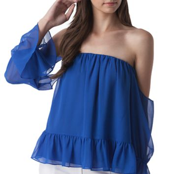 Arabelle Cobalt Top