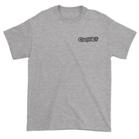 Embroidered Coexist Patch (Pocket Print) Mens T-shirt