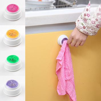 1PCS Wash cloth clip holder clip dishclout storage rack bath room storage hand towel rack Hot 2016