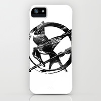 HUNGER GAMES PIN iPhone & iPod Case by Arda