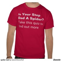 spider dad tee shirt