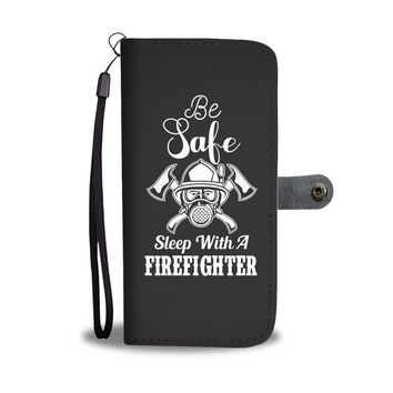 Custom Designed Safe Firefighter Wallet Phone Case