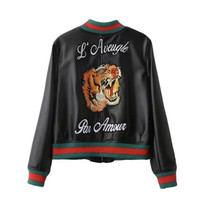Tiger Love Bomber Jacket