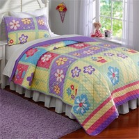 Sweet Helena Quilt with Pillow Sham