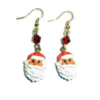 Santa Claus Dangle Earrings