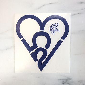 Viks 253 Heart Sticker