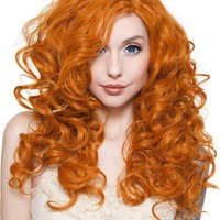 Cosplay [Dark Pumpkin Orange] | WIGS 22 INCH