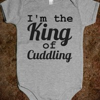 King of Cuddling (Black and Grey)