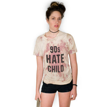 90s Hate Child UNISEX Tie Dye Tshirt Sizes S, M, L, XL