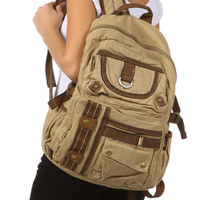 Casual Multi-Compartment 18 inch Utility Backpack